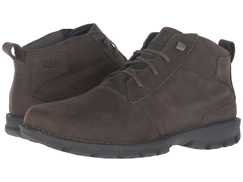Caterpillar Elston Waterproof (Dark Gull Grey) Men
