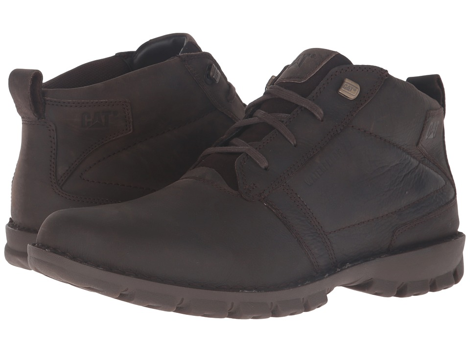 Caterpillar Elston Waterproof (Black Coffee) Men