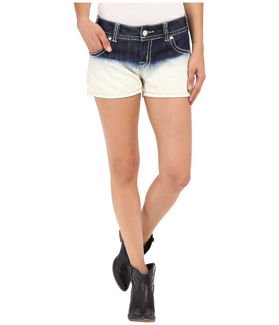 Rock and Roll Cowgirl Low Rise Shorts 68 7376 Discharge Womens Shorts