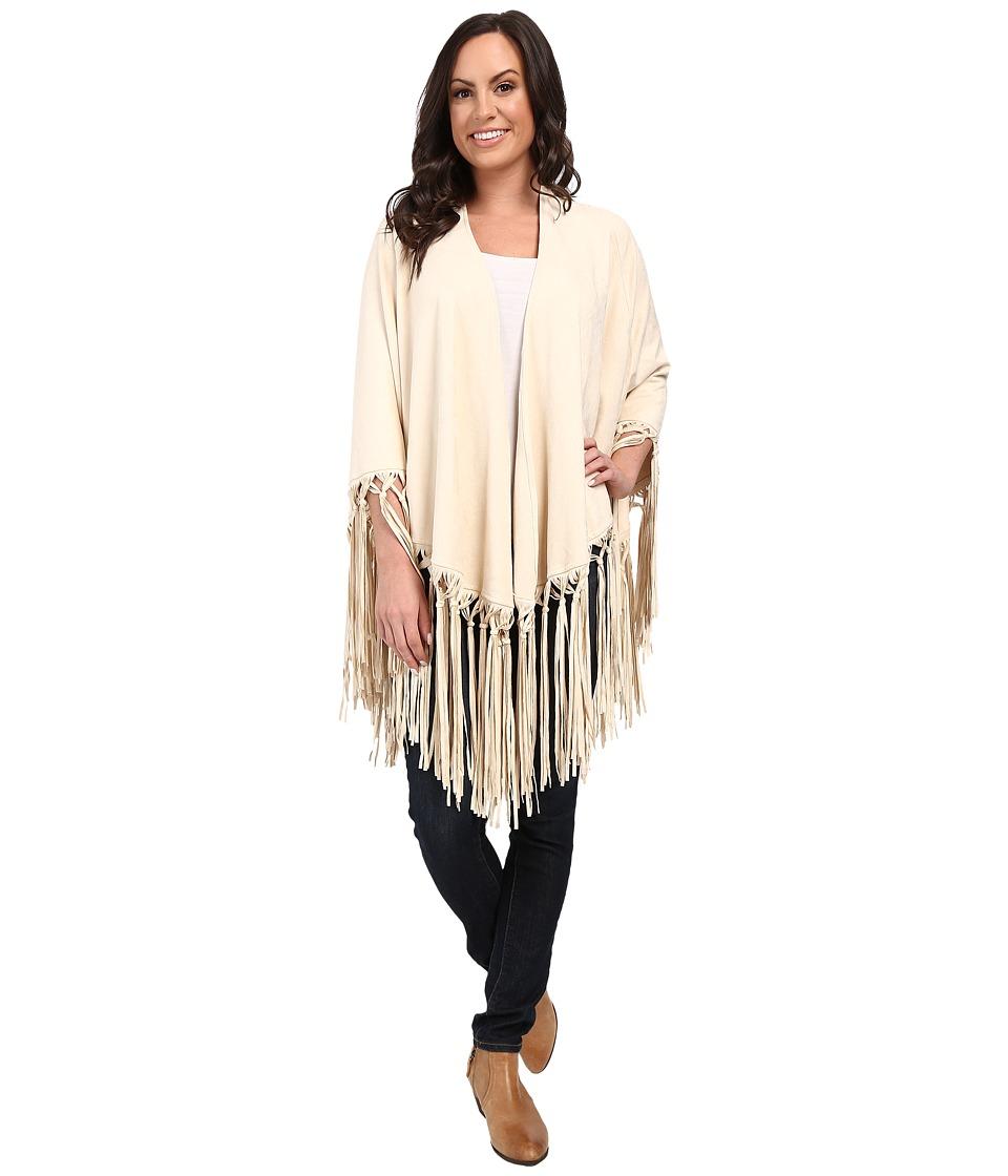 Tasha Polizzi - Sierra Shawl White Scarves $200.25 AT vintagedancer.com