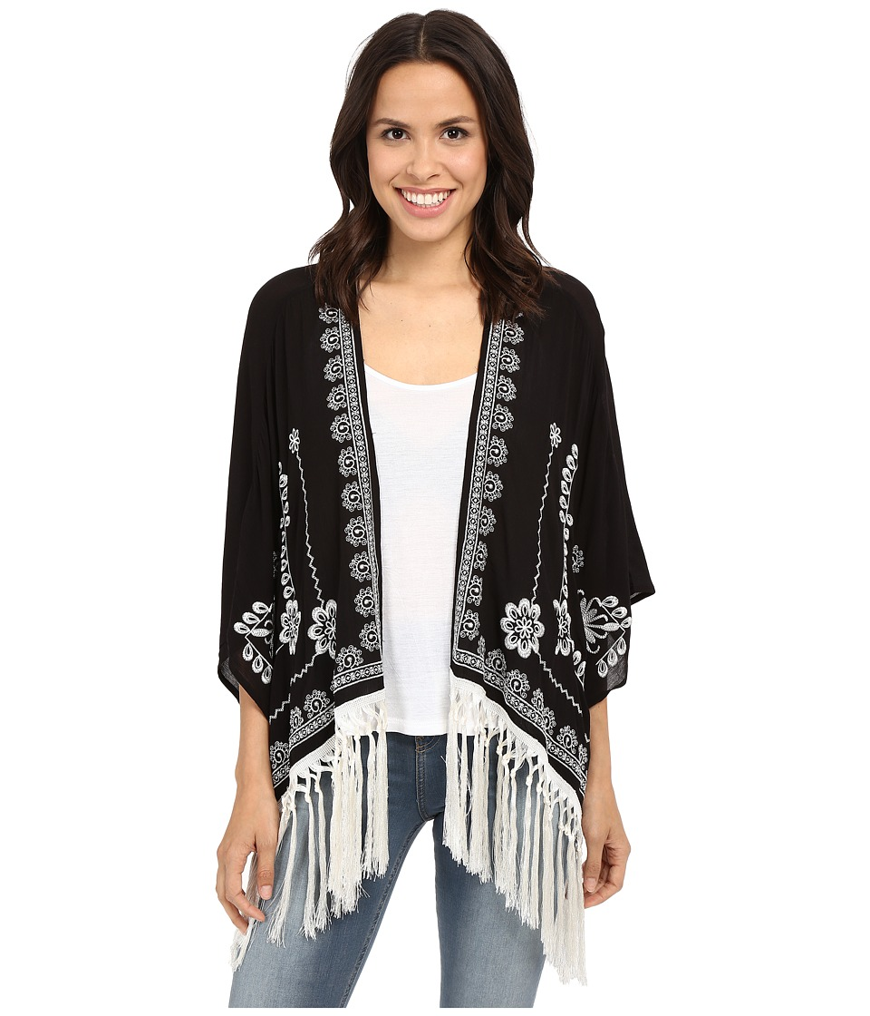 Tasha Polizzi Grace Cardigan Black Womens Sweater