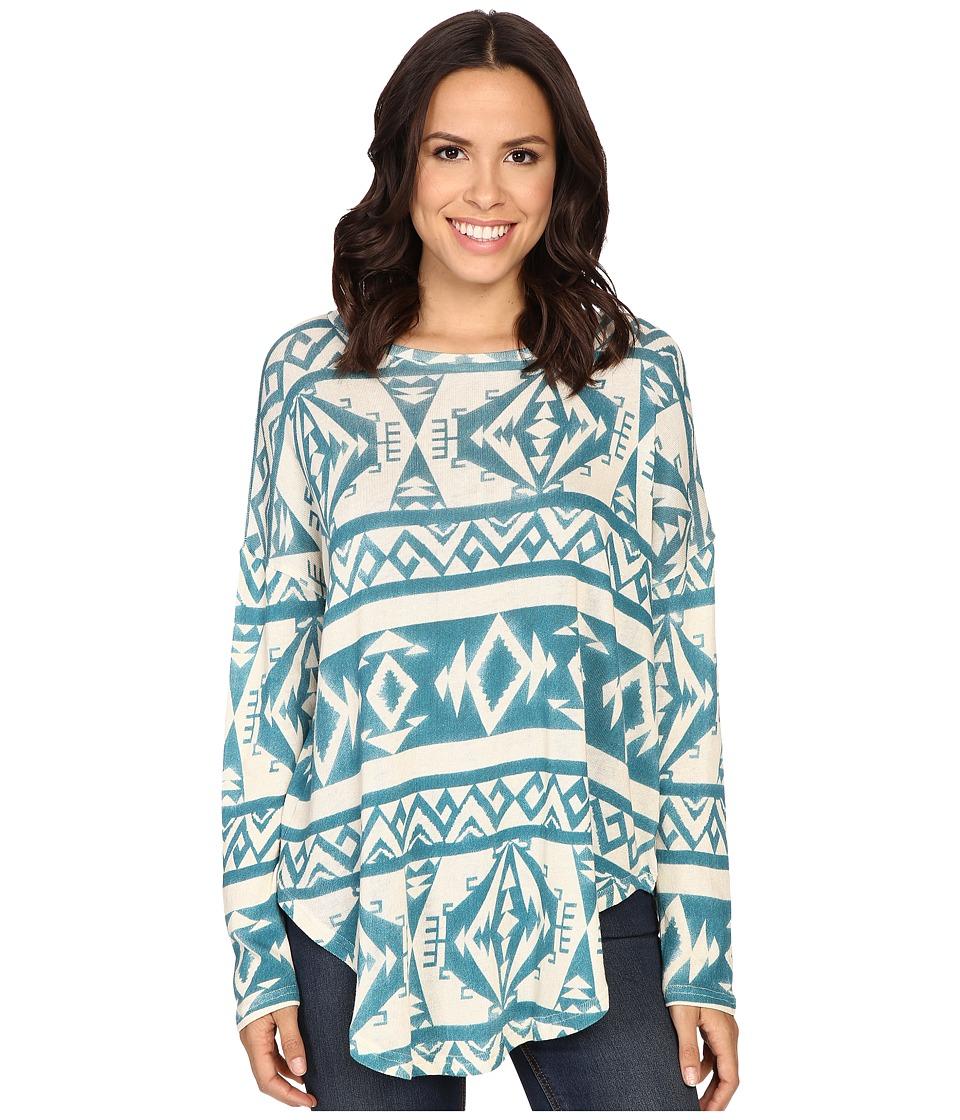 Tasha Polizzi Ahana Sweater Blue Womens Sweater