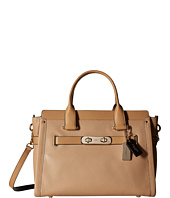 COACH - Color Block Leather Swagger 37