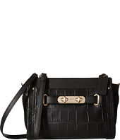 COACH - Embossed Croc Swagger Wristlet