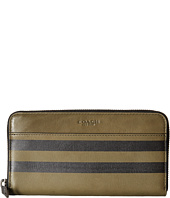 COACH - Varsity Stripe Accordion Wallet