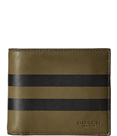 COACH - Varsity Stripe Compact ID Wallet