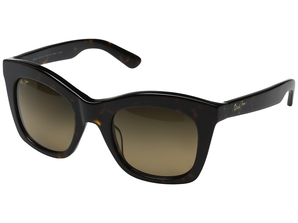 Maui Jim Coco Palms Dark Tortoise/HCL Bronze Polarized Fashion Sunglasses