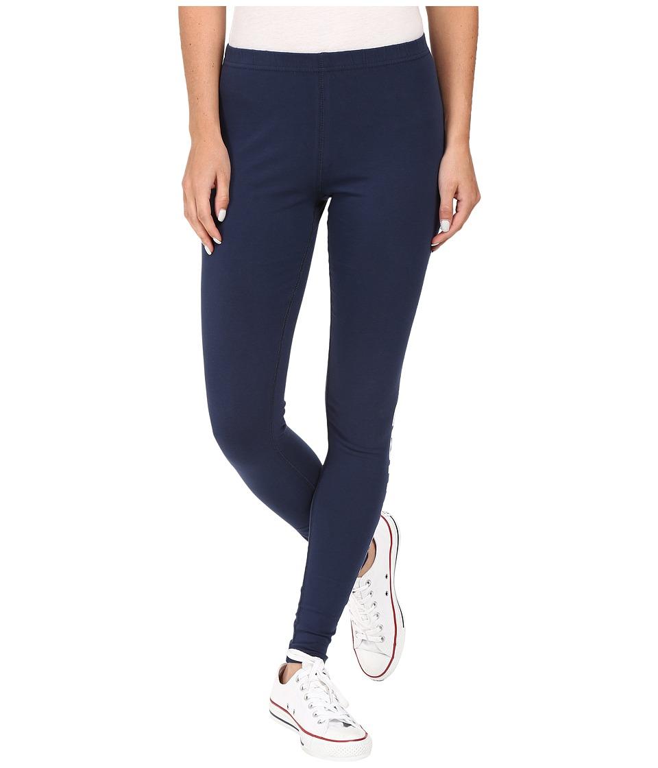 Converse Core Wordmark Leggings (Nighttime Navy) Women