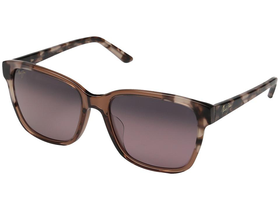 Maui Jim - Moonbow (Pink/Pink Tokyo/Maui Rose) Polarized Fashion Sunglasses