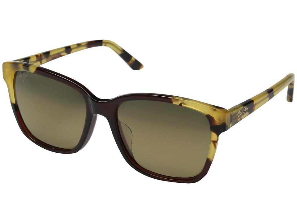 Maui Jim Moonbow Marsala/Tokyo Tortoise/HCL Bronze Polarized Fashion Sunglasses