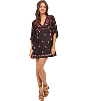 Free People - Embroidered Tulum Mini Dress