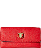 Tommy Hilfiger - TH Serif Signature - Large Flap Wallet