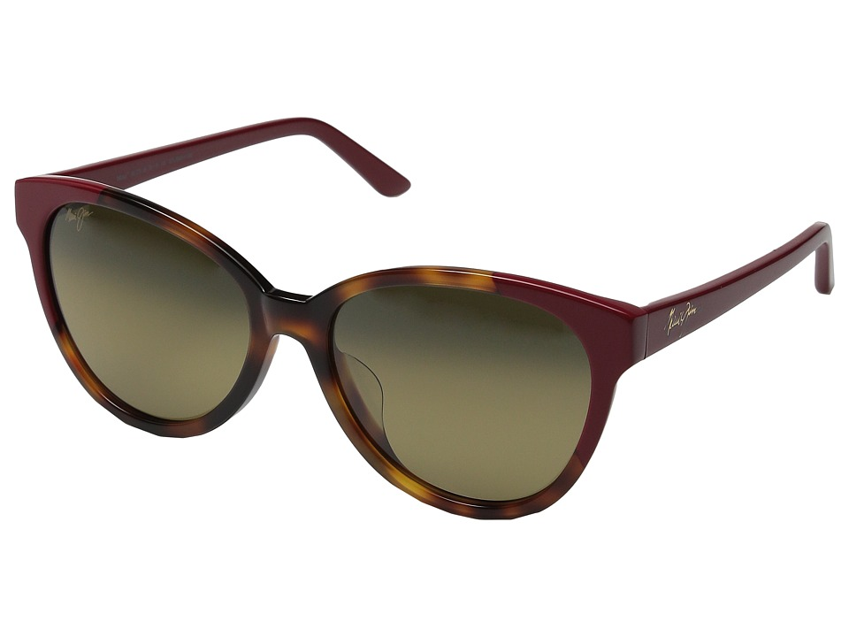 Maui Jim - Sunshine (Tortoise/Red/HCL Bronze) Polarized Fashion Sunglasses
