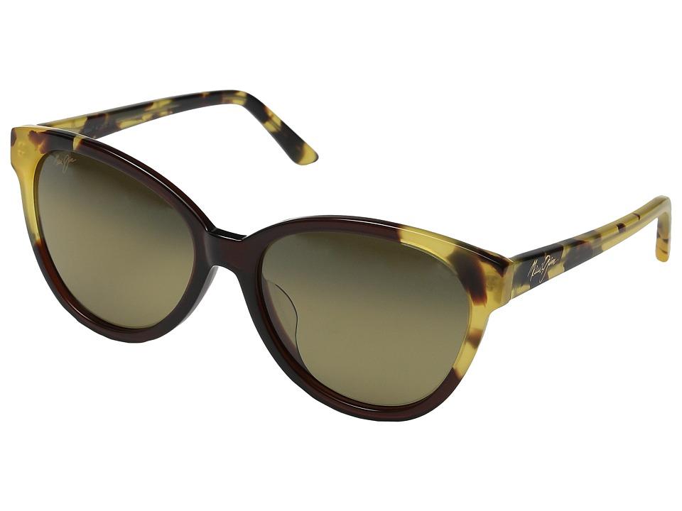 Maui Jim Sunshine Marsala/Tokyo Tortoise/HCL Bronze Polarized Fashion Sunglasses
