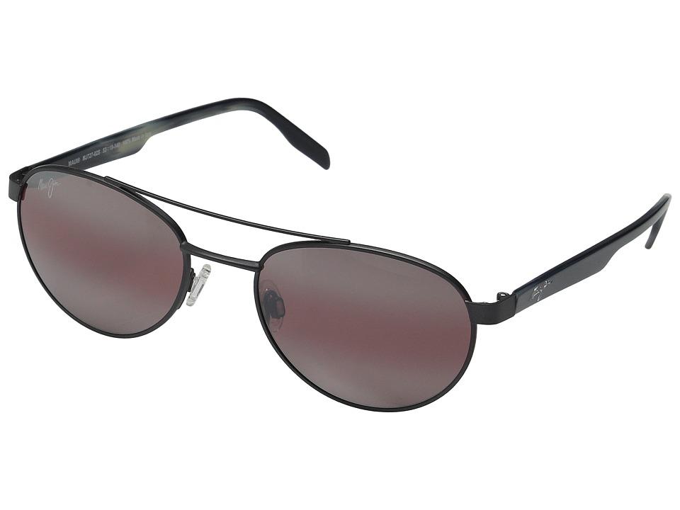 Maui Jim - Upcountry (Satin Dark Gunmetal/Maui Rose) Polarized Fashion Sunglasses