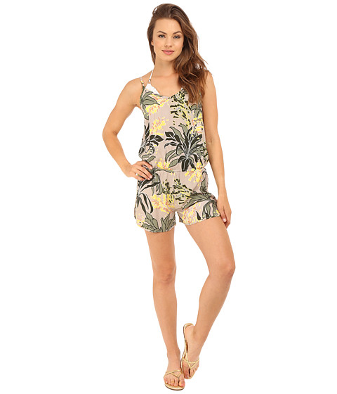 Vince Camuto Crete Flower Romper Cover-Up