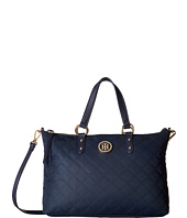 Tommy Hilfiger - TH Quilted - Convertible Top Zip Shopper