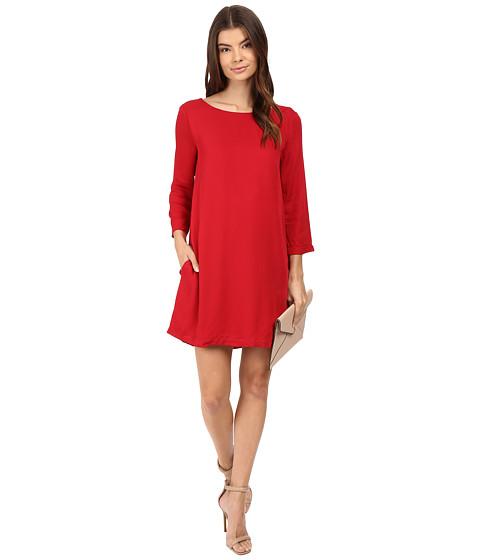 BB Dakota Zepplin Dress - Cherry Red
