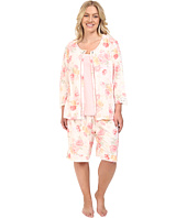 Carole Hochman - Plus Size Three-Piece Bermuda Pajama Set