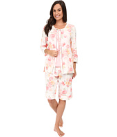 Carole Hochman - Three-Piece Bermuda Pajama Set