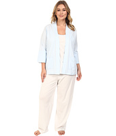 Carole Hochman - Plus Size Three-Piece Pajama Set