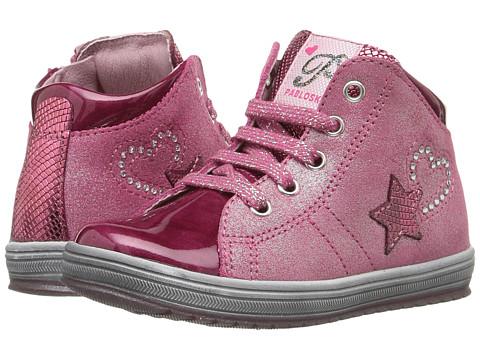 Pablosky Kids 4365 (Toddler/Little Kid/Big Kid) - Magenta Patent/Pink Metallic