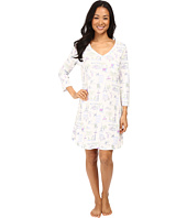 Carole Hochman - 3/4 Sleeve Novelty Print Sleepshirt