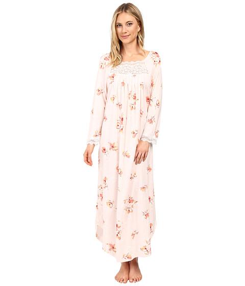 Carole Hochman Floral Long Sleeve Gown