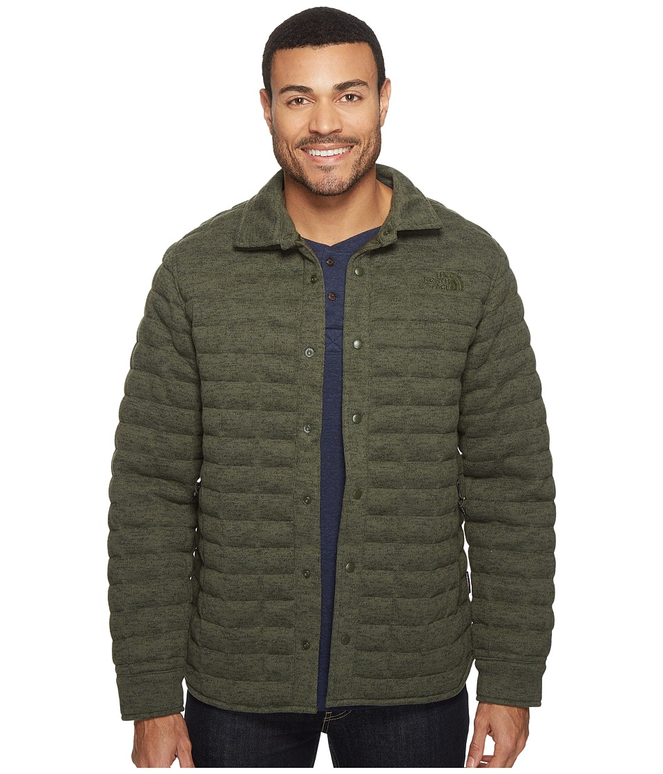 The North Face Kingston Thermoball Shacket (Climbing Ivy Green Heather (Prior Season)) Men