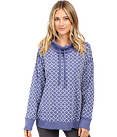 Carole Hochman - Popover Top with Flocking