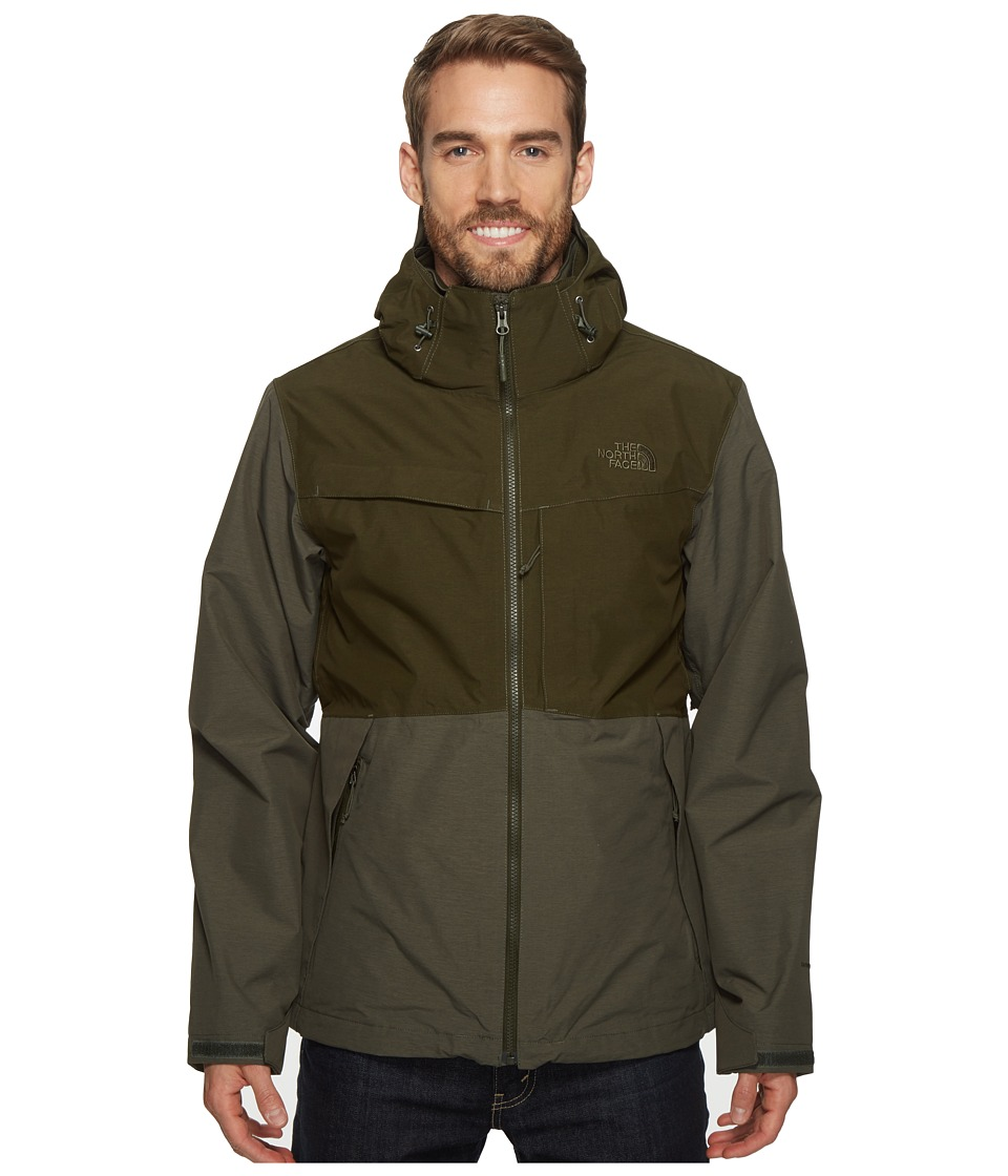 The North Face Condor Triclimate Jacket (Climbing Ivy Green Heather/Rosin Green Heather) Men
