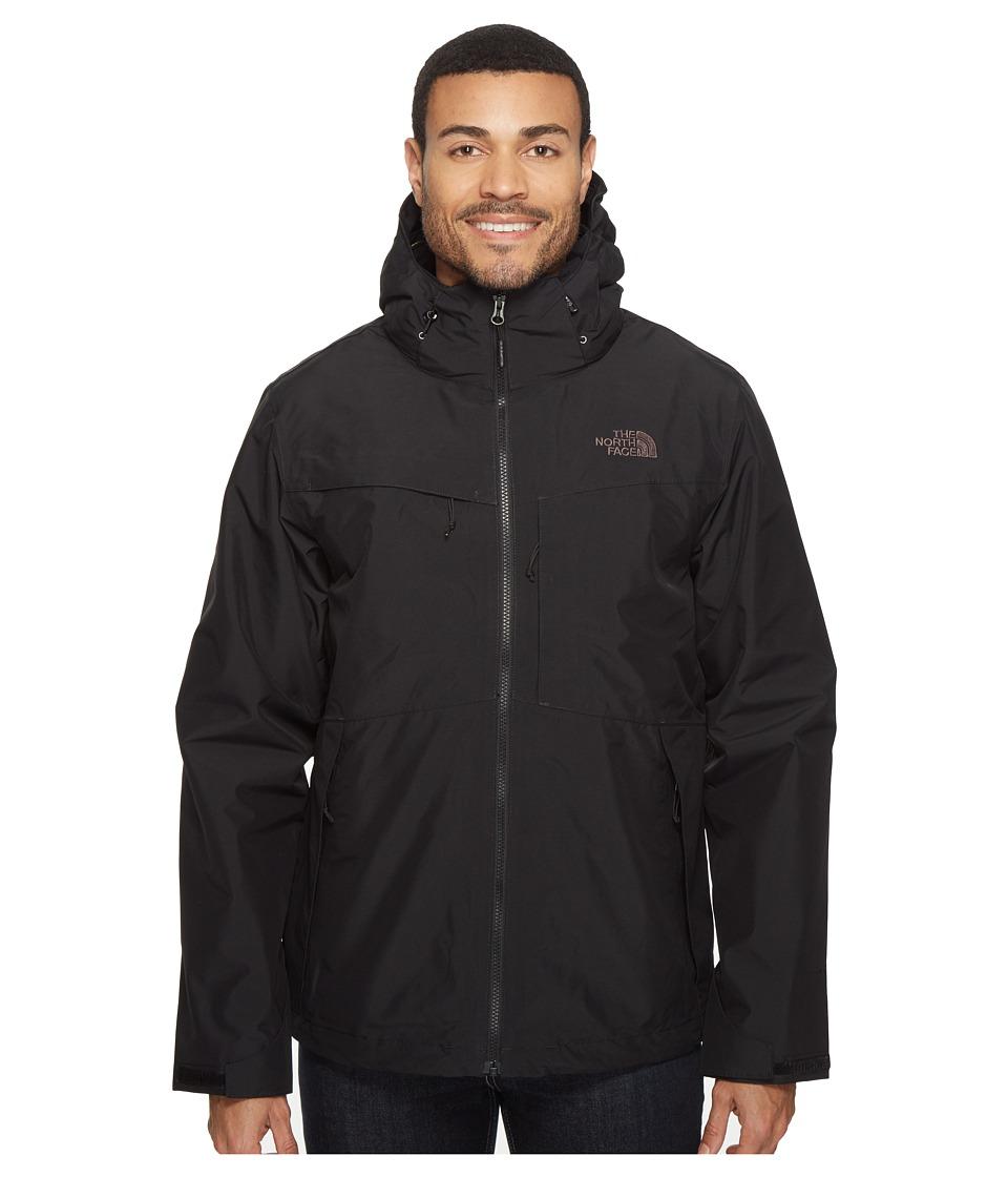 The North Face Condor Triclimate Jacket (TNF Black/TNF Black/Rosin Green Glamo Print) Men