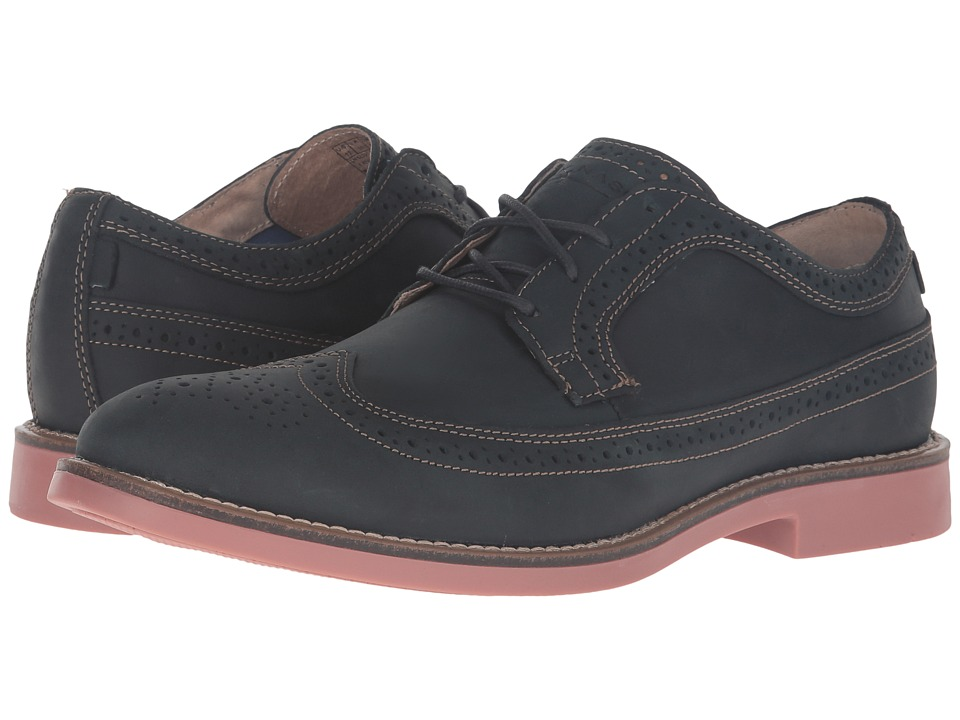 Mark Nason - Foxhill (Navy Leather/Tan Welt/Brick Bottom) Men