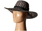 Steve Madden Floppy Woven Two-Tone Hat