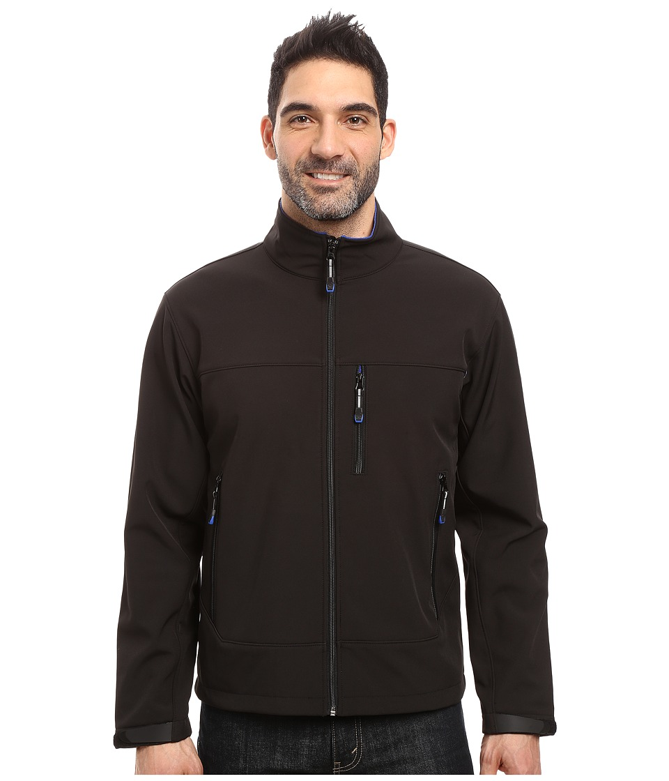 Roper Softshell Bomber Jacket (Black) Men