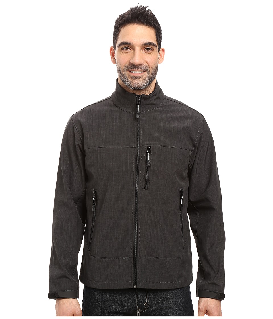 Roper Softshell Bomber Jacket (Grey) Men