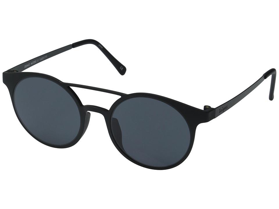 Le Specs - Demo Mode (Black Rubber) Fashion Sunglasses