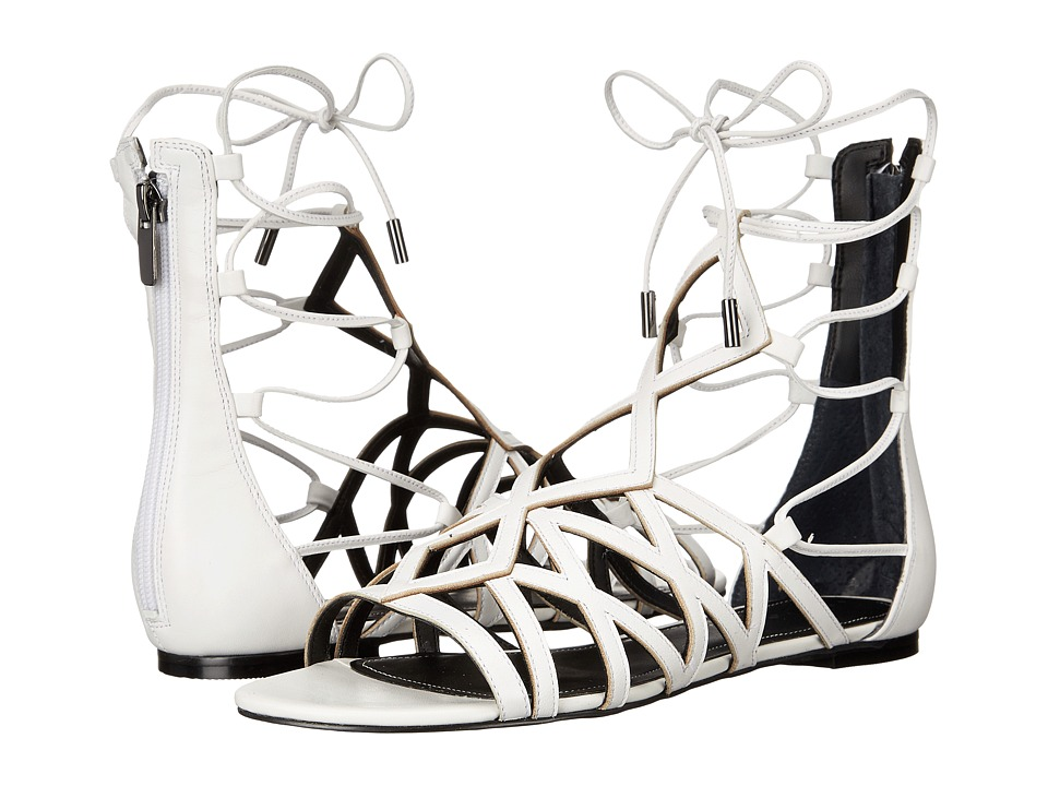 KENDALL KYLIE Cody White Premier Nappa Womens Sandals