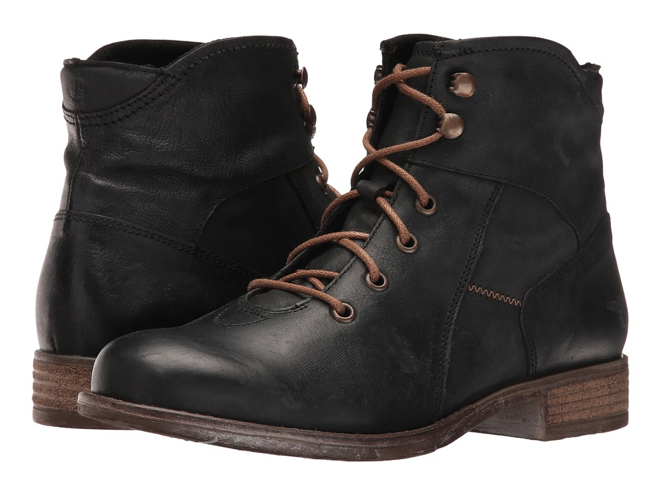Josef Seibel Sienna 11 (Black) Women's Lace-up Boots