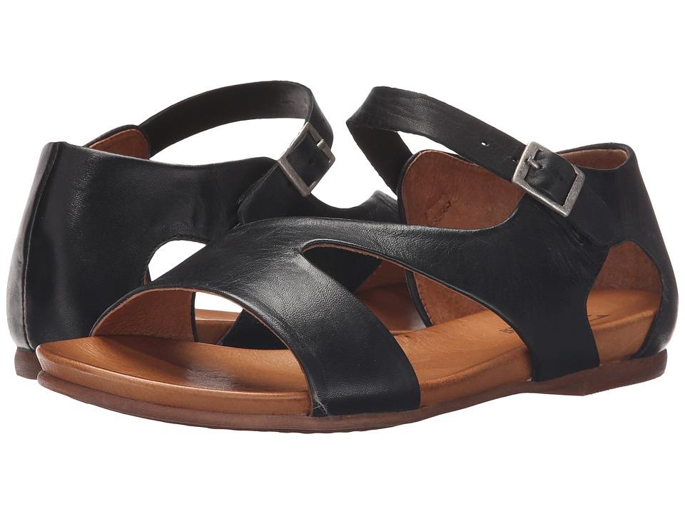 Miz Mooz Alyssa Black Womens Sandals