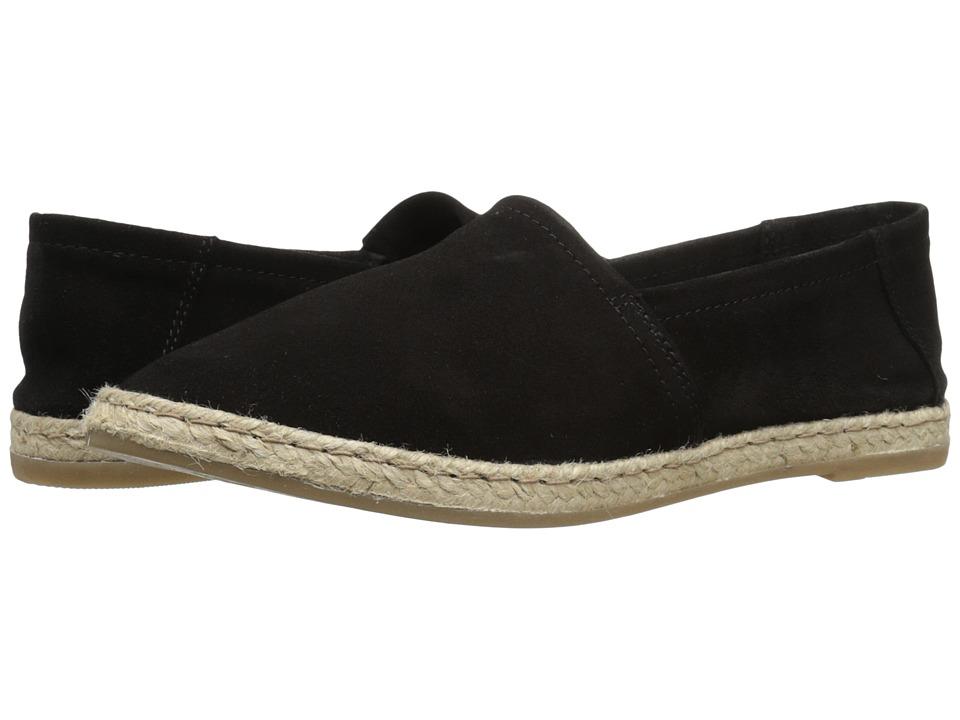 Miz Mooz Amaze Black Suede Womens Slip on Shoes