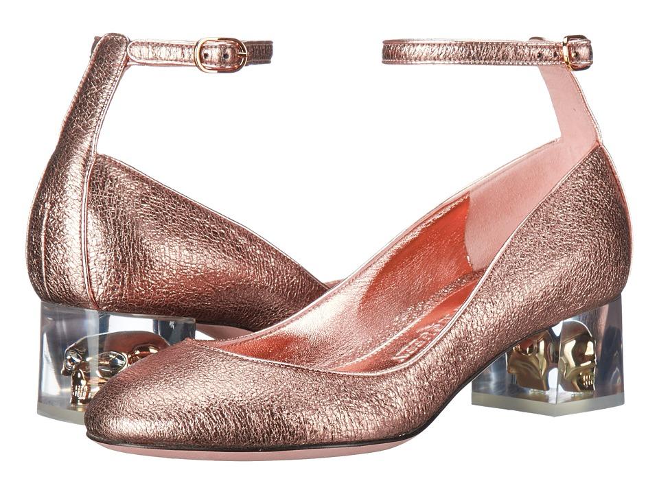 Alexander McQueen Scarpa Pelle S.Cuoio (Boudoir/Boudoir) High Heels