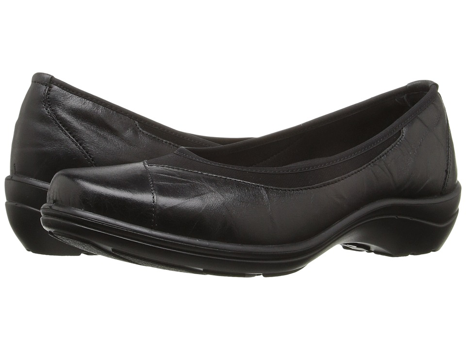 Romika of Germany Cassie 21 (Black) Women's Dress Flat Shoes