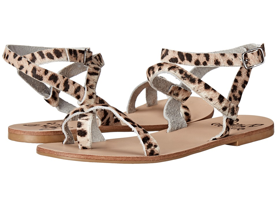 Warm Creature Esme Leopard Womens Sandals
