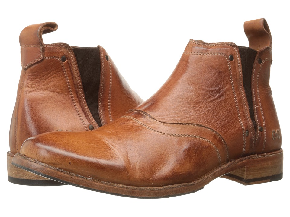 Bed Stu Prato (Cognac Dip Dye Leather) Men