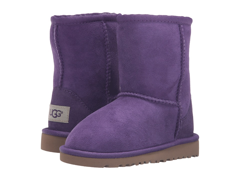 UGG Kids Classic (Toddler/Little Kid) (Electric Purple) Girls Shoes