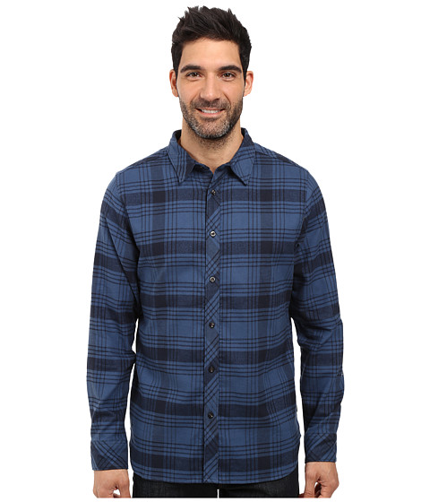 The North Face Long Sleeve Approach Flannel - Urban Navy