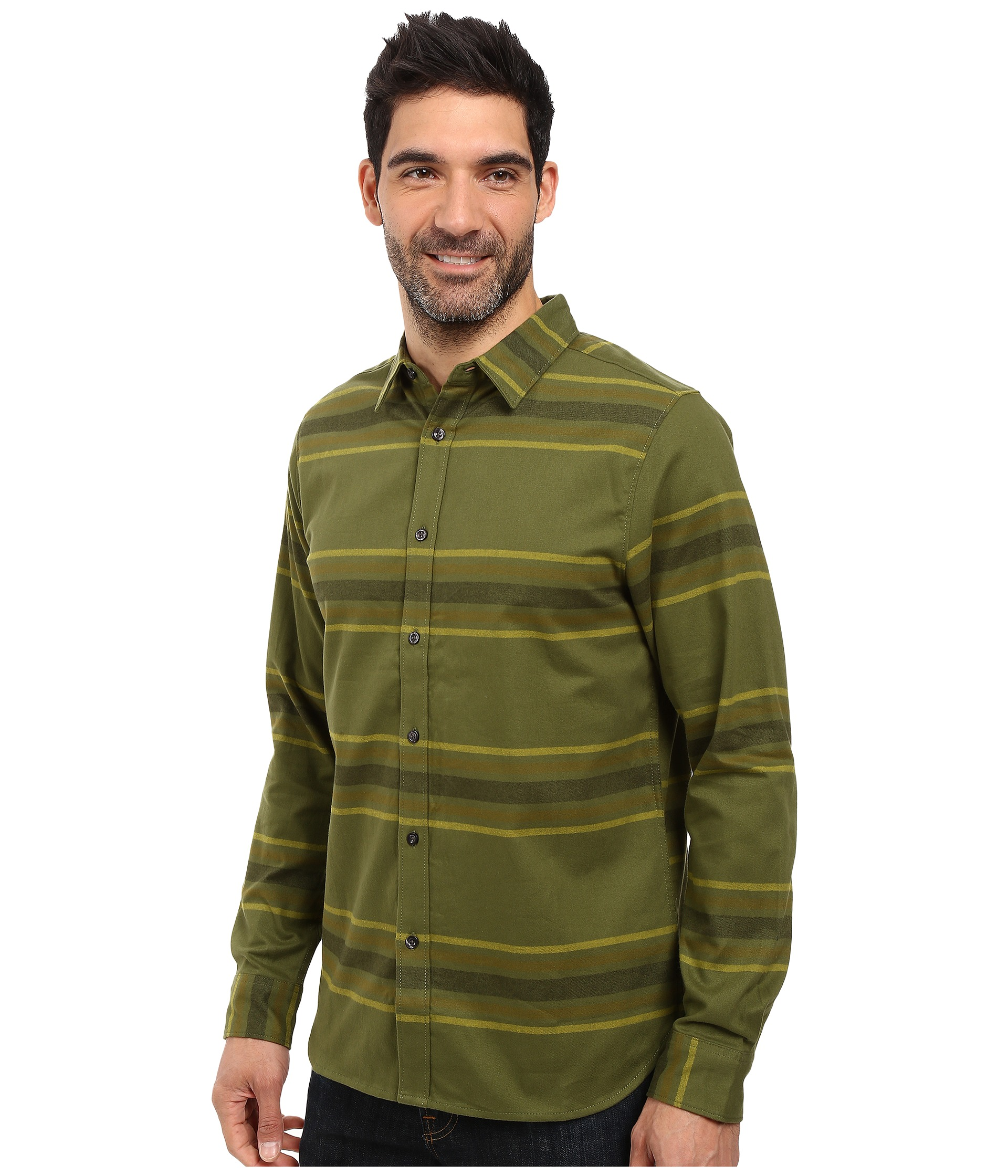 The north face long sleeve approach flannel for Athletic cut flannel shirts