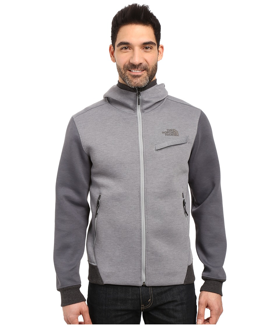 The North Face - Thermal 3D Full Zip Hoodie (TNF Medium Grey Heather) Men