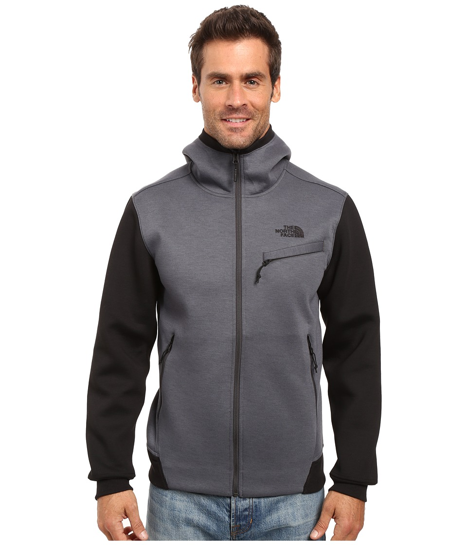 The North Face - Thermal 3D Full Zip Hoodie (TNF Dark Grey Heather) Men